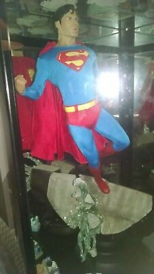 sideshow collectibles superman premium format, perfect condition