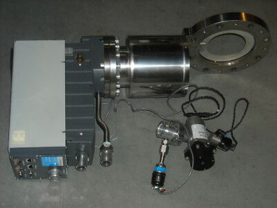 CTi Helix on board Cryopump turbo plus hi vacuum pump