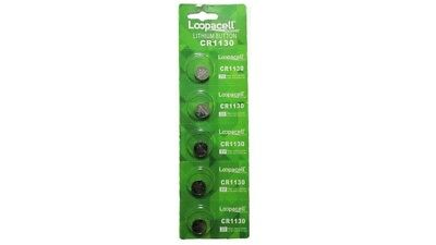 5 piece CR1130 1130 DL1130 BR1130 High Quality 3V Lithium battery Loopacell