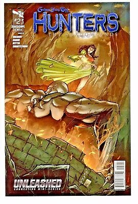 Grimm Fairy Tales   Hunters  Shadowlands  #2   * Variant *  Cover B   Nm