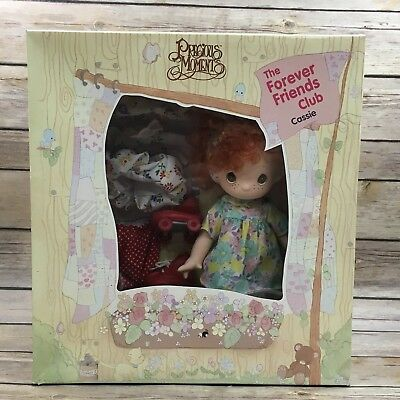 Retired Precious Moments 1993 The Forever Friends Club Cassie Rose Art
