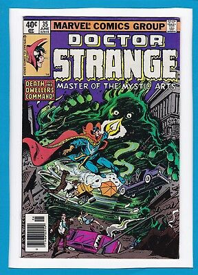 """Doctor Strange #35_June 1979_Very Fine Minus_""""death At The Dwellers Command""""!"""