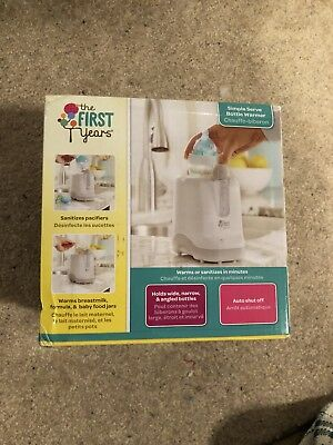 The First Years Simple Serve Bottle Warmer, Pacifier Sanitizer