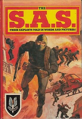 The S.A.S. Annual 1983 - Exploits in Words and Pictures (Hard Cover Book) Used