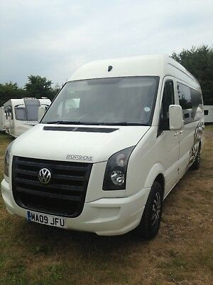 vw crafter motorhome