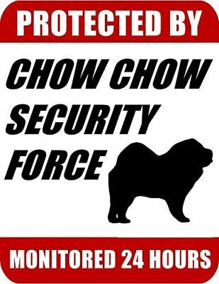 PROTECTED BY PUGAPOO SECURITY AGENCY DOG STICKER