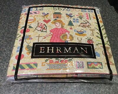 EHRMAN tapestry kit American Love Sampler by Candace Bahouth 1995 - new