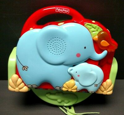 Fisher Price Luv U Zoo Crib Soother Music Projector With Mirror Base K