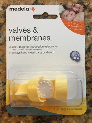 Medela Spare Valves and Membranes Authentic 2 Valves