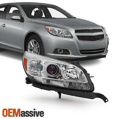 Fit 2013-2015 Chevy Malibu LT LTZ Passenger Side Projector Headlight Replacement