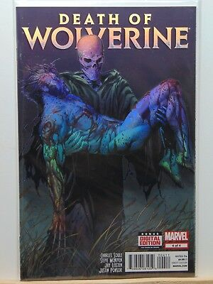 Death of Wolverine #4 Holo Cover Marvel Comics CB3900