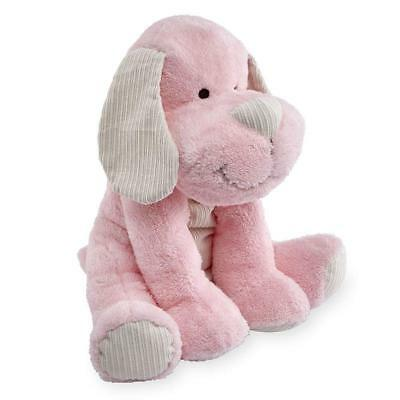"""Animal Alley Pink Cuddle Puppy Stuffed Plush Toy Dog 16"""" Toys R Us Exclusive New"""
