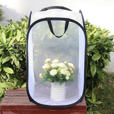 """Praying Mantis Insect and Butterfly Habitat Mesh Cage Terrarium Pop-up 23.6""""Tall"""