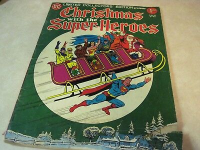 CHRISTMAS WITH THE SUPER-HEROES #C-43 DC TREASURY COLLECTOR'S EDITION ~ Batman!!