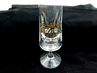 Laib Brau Feldkirchen German Beer Glass Drink