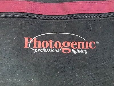 Photogenic Light Stand Bag Never Used Lot of 4. Holds up to 8-Norman Stands!