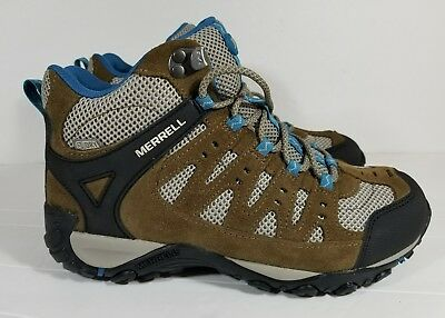 9f22fca6a14 MERRELL WOMEN'S ACCENTOR Mid WTPF Stone/Orchid Hiking Boot J321085C ...