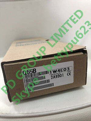 NEW In Box Mitsubishi Q65B PLC FREE INT SHIPPING AND 1 YEAR WARRANTY