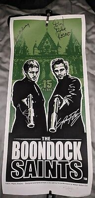 Boondock Saints 15 Year Anniversary Lithograph Poster