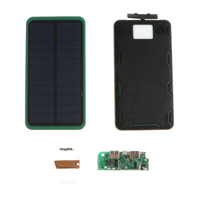 Waterproof 8000mAh Two USB Foldable Solar Battery Charger Solar Power Bank