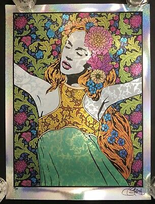 Chuck Sperry Rhyme Sparkle Foil #14/25 Signed/Numbered Stunning! RARE!