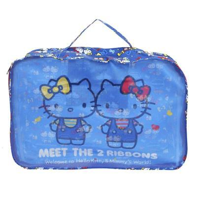 Sanrio Hello Kitty Travel Foldable Clothing Storage Case / Bag (9-7020-1)