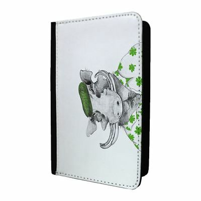 S2222 Accessories4life Funny Giraffe PU Leather Travel Passport Holder Protector Cover Wallet Case Cover