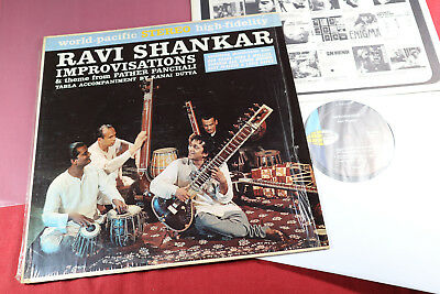 Ravi Shankar  IMPROVISATIONS  -  LP World Pacific ST 1416 USA 1962