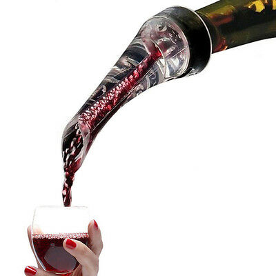 White Red Wine Aerator Pour Spout Bottle Pourer Aerating Decanter Home_Bar