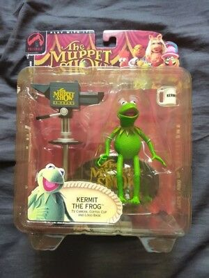 KERMIT THE FROG The Muppet Show 25 Years Figure Palisades Toys 2002