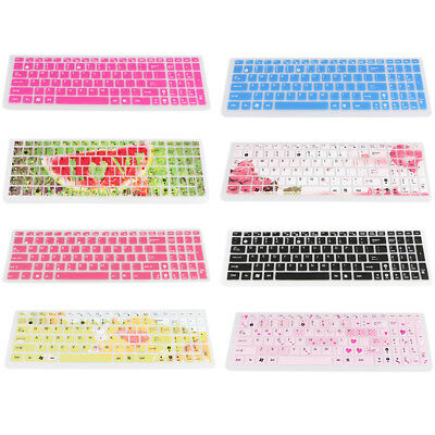 Rubber Keyboard Cover for ASUS Laptop Computer Protective Stickers Paster