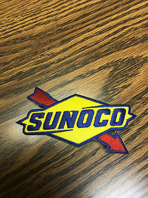 NEW SUNOCO Race Fuels Iron On Patch 4.5""
