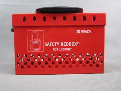 Brady Safety Redbox For Lockout Tagout Brand New Work Site Jobsite Safety