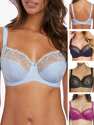 Fantasie Estelle Bra Side Support Balcony 9352 Underwired Lined Lace Lingerie