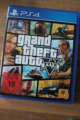 Grand Theft Auto V (Sony PlayStation 4, 2014, DVD-Box)
