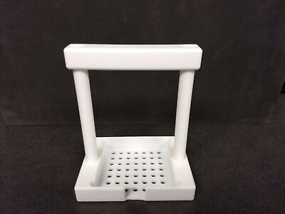 PTFE Fluoro Wafer Dipper 3 Inch Square With Handle v1