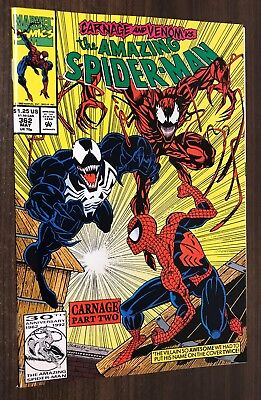 AMAZING SPIDER-MAN #362 -- 2nd Appearance of CARNAGE --  VF/NM Or Better