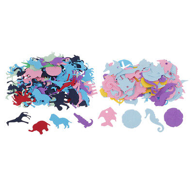 100pcs Paper Throwing Confetti Table Scatter Animals Design for XMAS Party