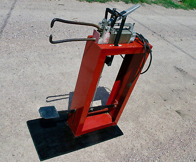 DAYTON SPOT WELDER with STAND & FOOT CONTROL 110/115/120 Portable Sheet HVAC
