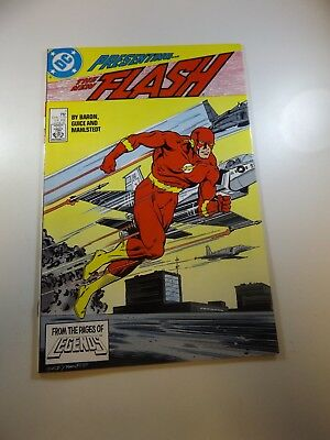The Flash #1 2nd series VF- condition Free shipping on orders over $100.00!