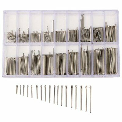 360PCS 6-23mm Stainless Steel Watch Strap Band Link Cotter Pins Bar Tool W5K3