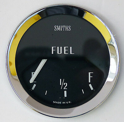Smiths BF2226/00 Classic Car Fuel Gauge Chrome Bezel, MGB Sprite Midget BHA4736