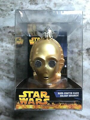 Star Wars Hand-crafted Glass C-3PO Ornament