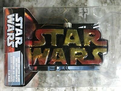 Star Wars Hand-crafted Glass Star Wars Logo Ornament