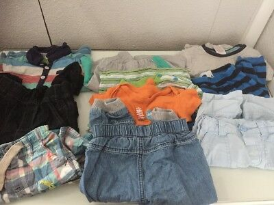 Baby Boy Bundle 12-18 Months Used Unwanted 10 Items Mixed Items And Brands