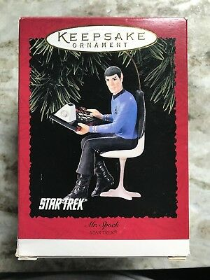 Star Trek Captain Jean-Luc Picard Keepsake Ornament in Original Packaging