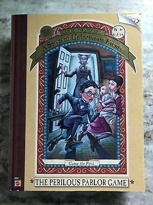 Lemony Snicket's A Series Of Unfortunate Events - The Perilous Parlor Game - 8+