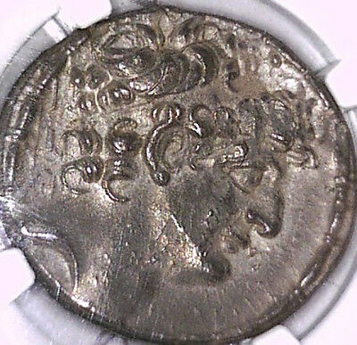 Seleucid Kingdom Phillip I Tetradrachm, 95-75Bc,  Ngc Au, Very Attractive Toning