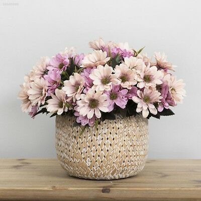 Ornament Handmade Artificial Daisy Silk Cloth 1 Bouquet Wedding Decoration B51A