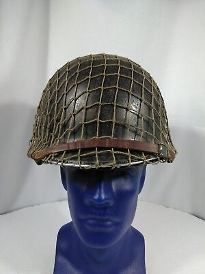 Authentic Named Korean war era U.S. Army/USMC helmet
